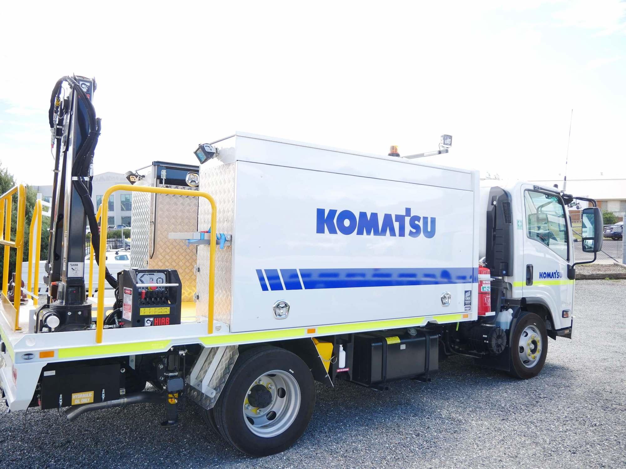 Komatsu Mine Spec Service Truck