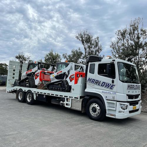 Marlowe Beavertail Truck loaded
