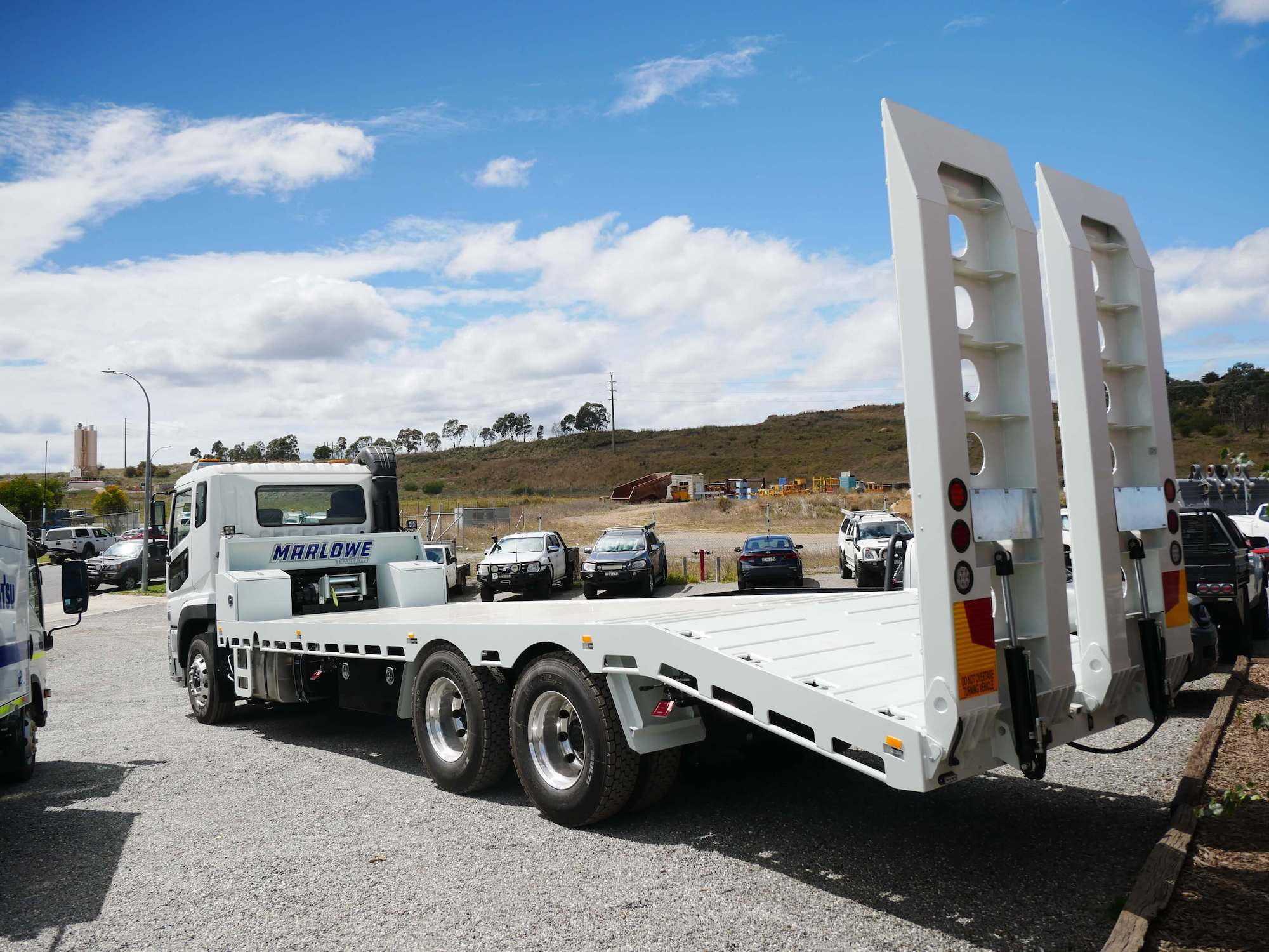 Marlowe Beavertail Truck Customised Body